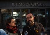 Benet Salellas i Natàlia Sànchez CUP eleccions 21D Girona